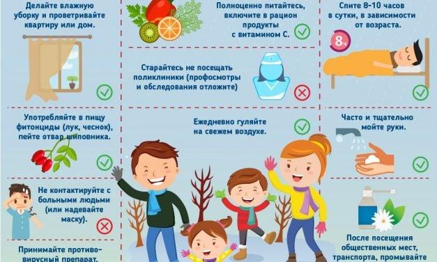 О Всероссийской «горячей линии» по мерам профилактики заболеваемости гриппом и ОРВИ