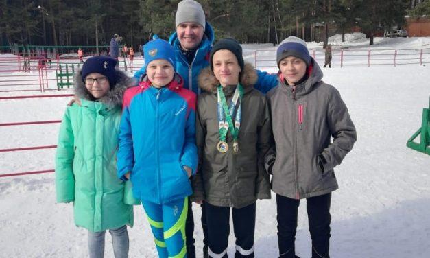 Первенство Свердловской области по лыжным гонкам ЗМС Олимпийской чемпионки З.С. Амосовой