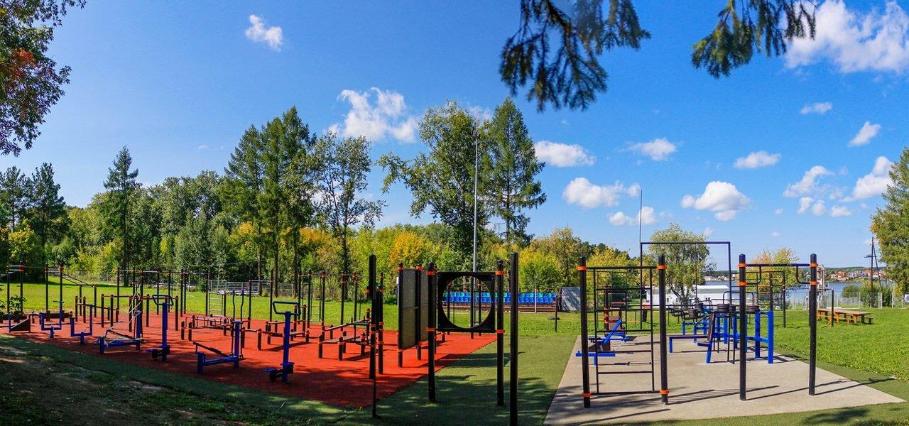 Спортивная площадка, для проведения тестирования населения в соответствии со Всероссийским физкультурно-спортивном комплексом «Готов к труду и обороне ГТО».