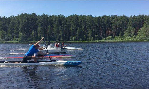 Тренировочное мероприятие по специальной и общей физической подготовке сборной Свердловской области по гребле на байдарках и каноэ