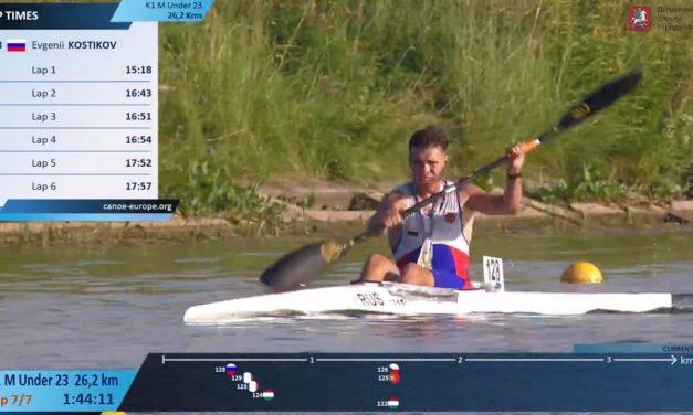 Наш спортсмен Костиков Евгений занял 6-ое место первенства Европы по марафону среди юниоров