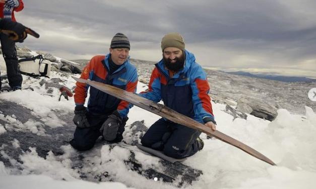В Норвегии нашли лыжи с креплением возрастом 1300 лет